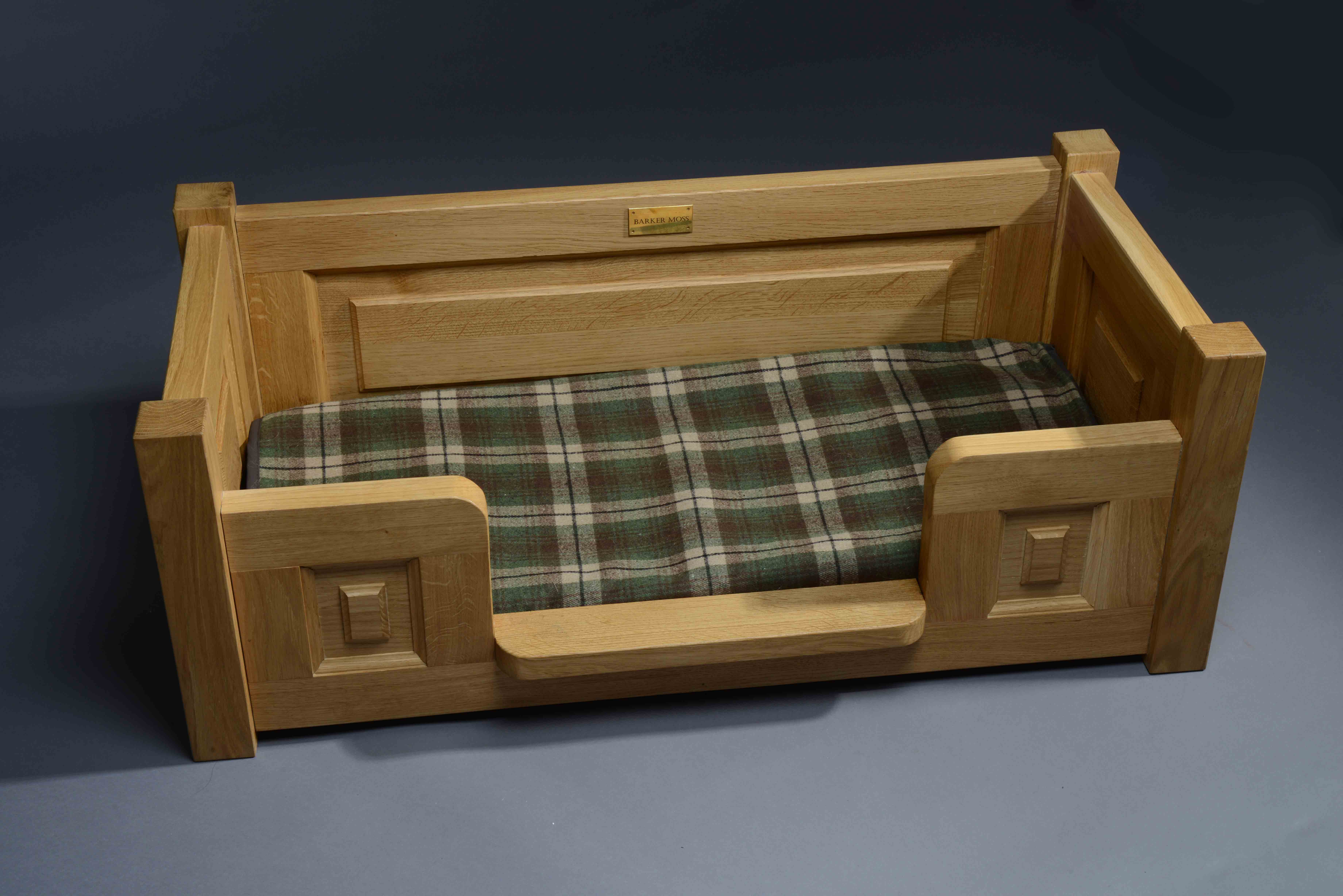 Dog Bed Angled View