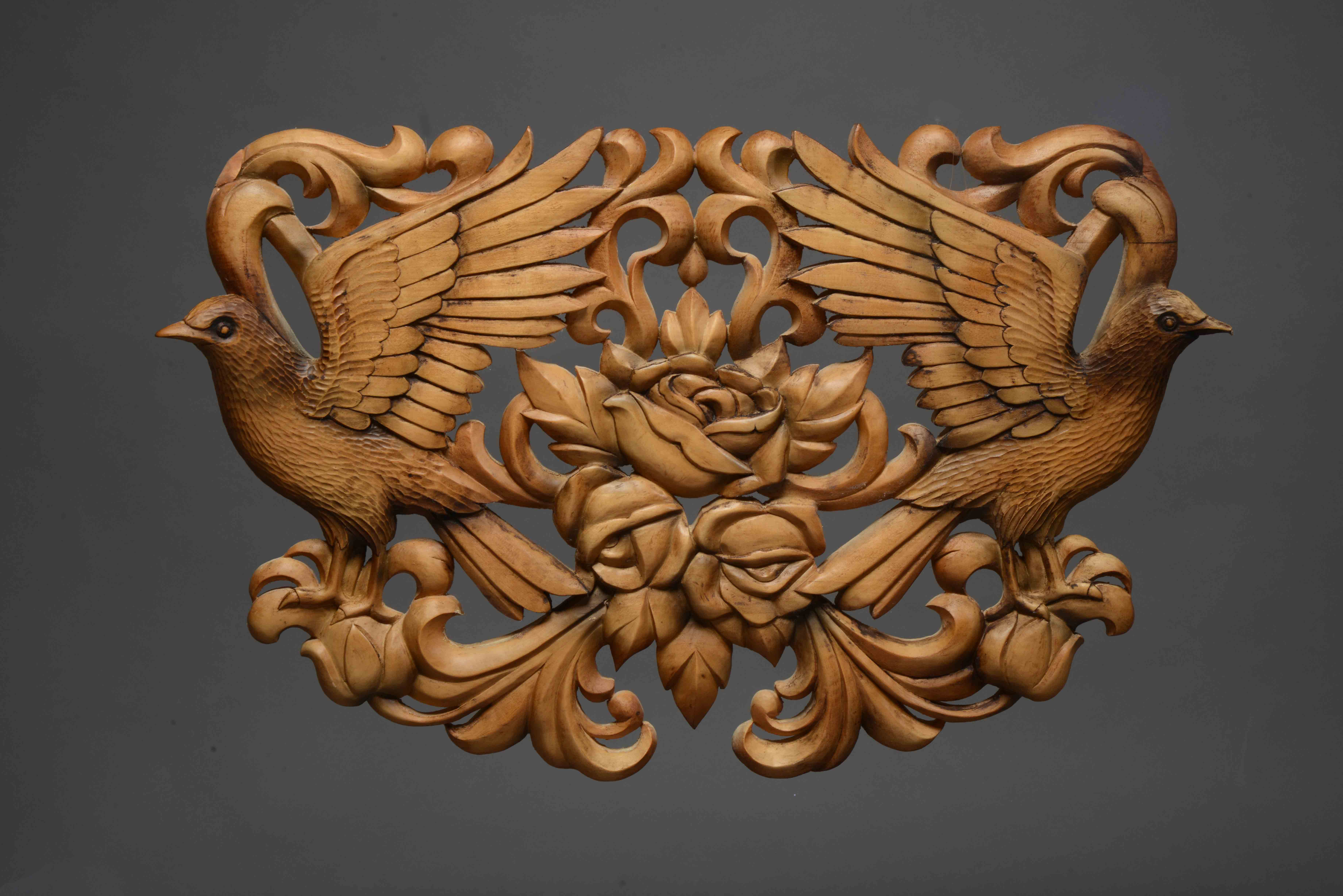 Hand carved panels for interiors