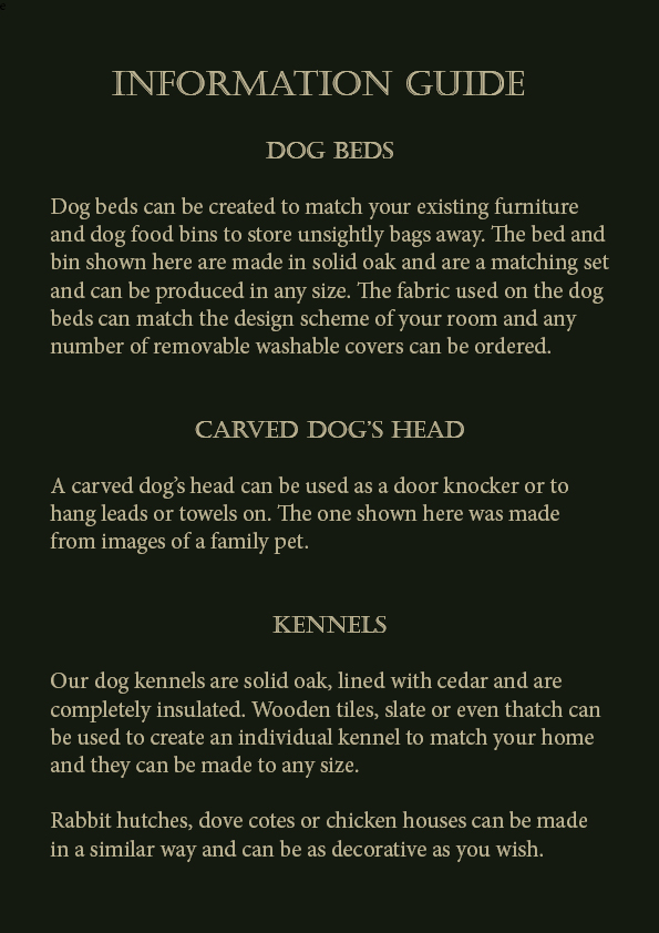 Information Guide Pets