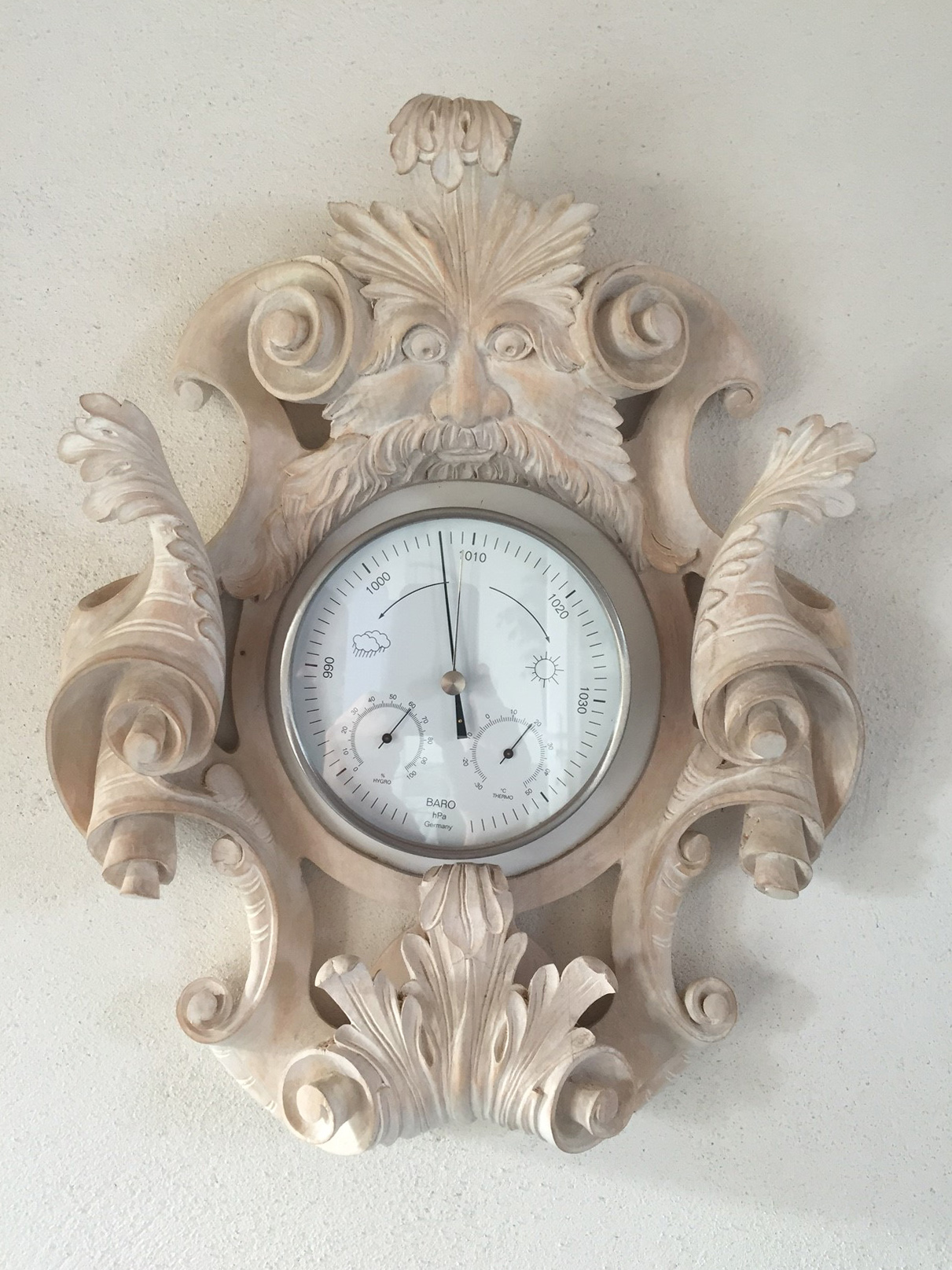 Nana Carved Clock