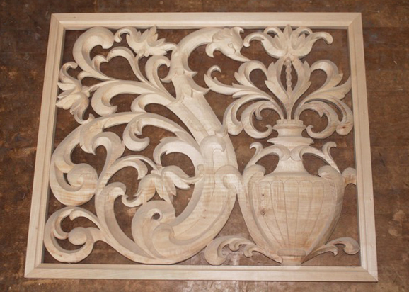 Carved Panel Bird